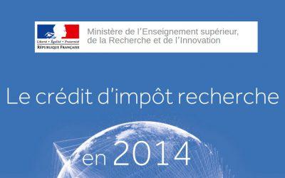 Le bilan du CIR 2014 est disponible