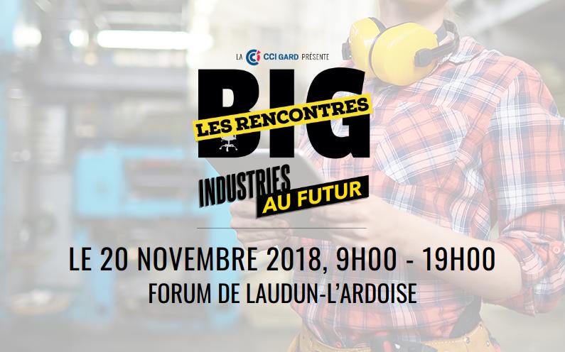 BIG les rencontres à Laudun-L'ardoise le mardi 20 novembre