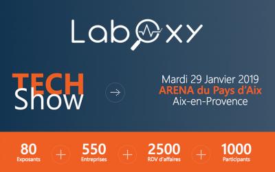LabOxy vous donne rendez-vous à TECHShow le mardi 29 janvier à Aix-en-Provence