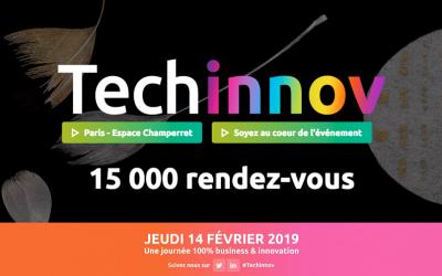 Rendez-vous le jeudi 14 février à l'Espace Champerret à Paris pour les R&D Meetings de Techinnov