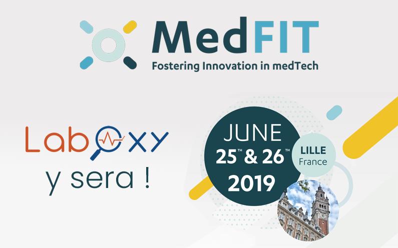 A vos agendas ! LabOxy sera à MedFit les 25 et 26 juin à Lille