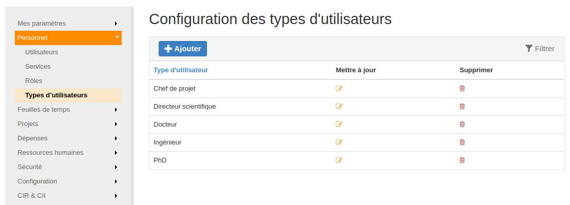configuration-type-utilisateur