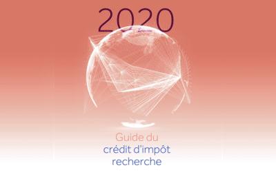 Le guide CIR 2020 et ses nouveautés sont en ligne