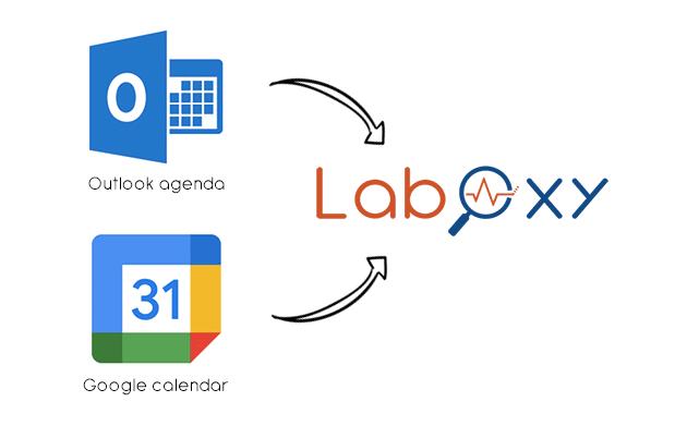 Connecteurs Microsoft et Google pour LabOxy