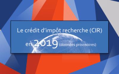 Le MESRI publie ses statistiques (non-définitives) du CIR pour 2019